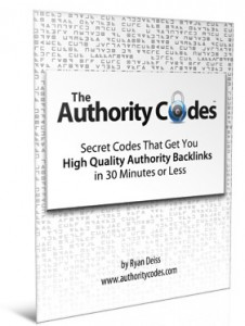 Authority Codes by Ryan Deiss