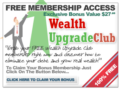Wealth Upgrade Club Elevation Group Bonus