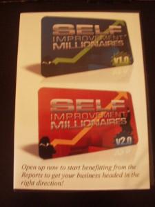 Self Improvement Millionaires DVD Volumes 1 & 2